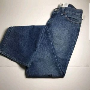 GAP Jeans Zip Fly Faded Low Rise Flare